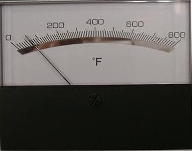 Lincoln Analog Temperature Gauge part # 369029 Pizza Conveyor Oven
